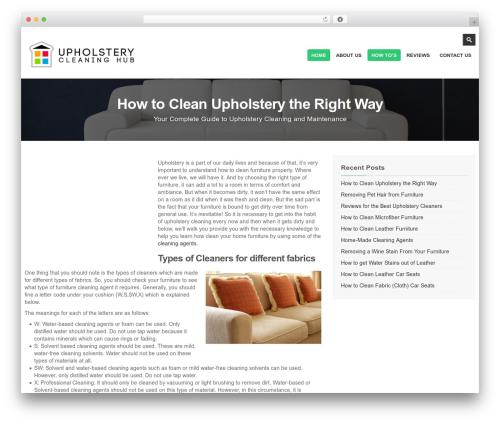 kimmia WordPress theme - upholsterycleaninghub.com