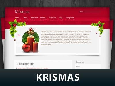 Krismas WordPress theme