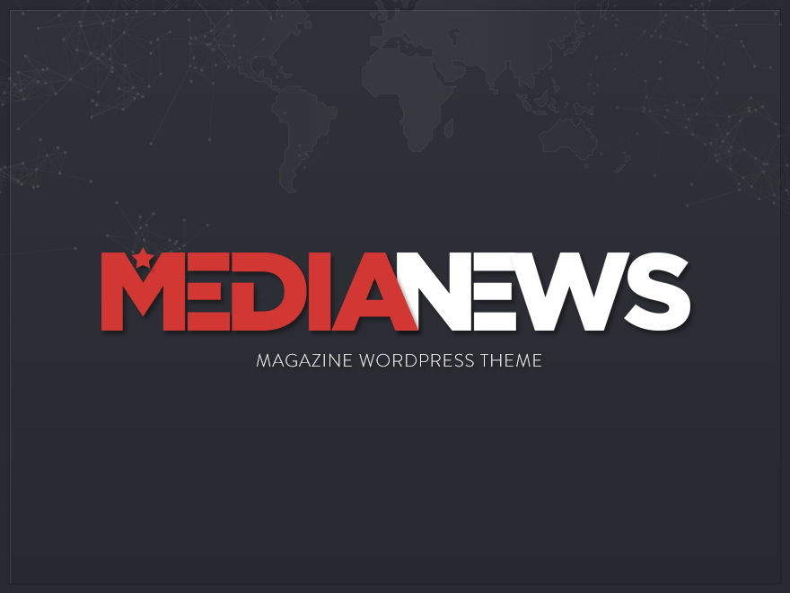 Media News WordPress template for photographers
