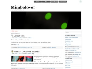 Mimbolove WordPress theme image