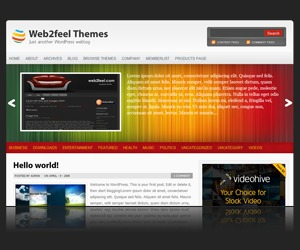 Multichrome WordPress theme