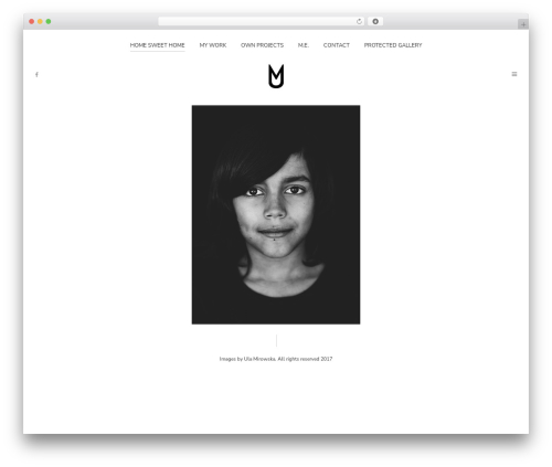Pinhole WordPress theme image - ulamirowska.com