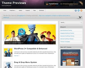 Revista Wordpress Theme WordPress page template