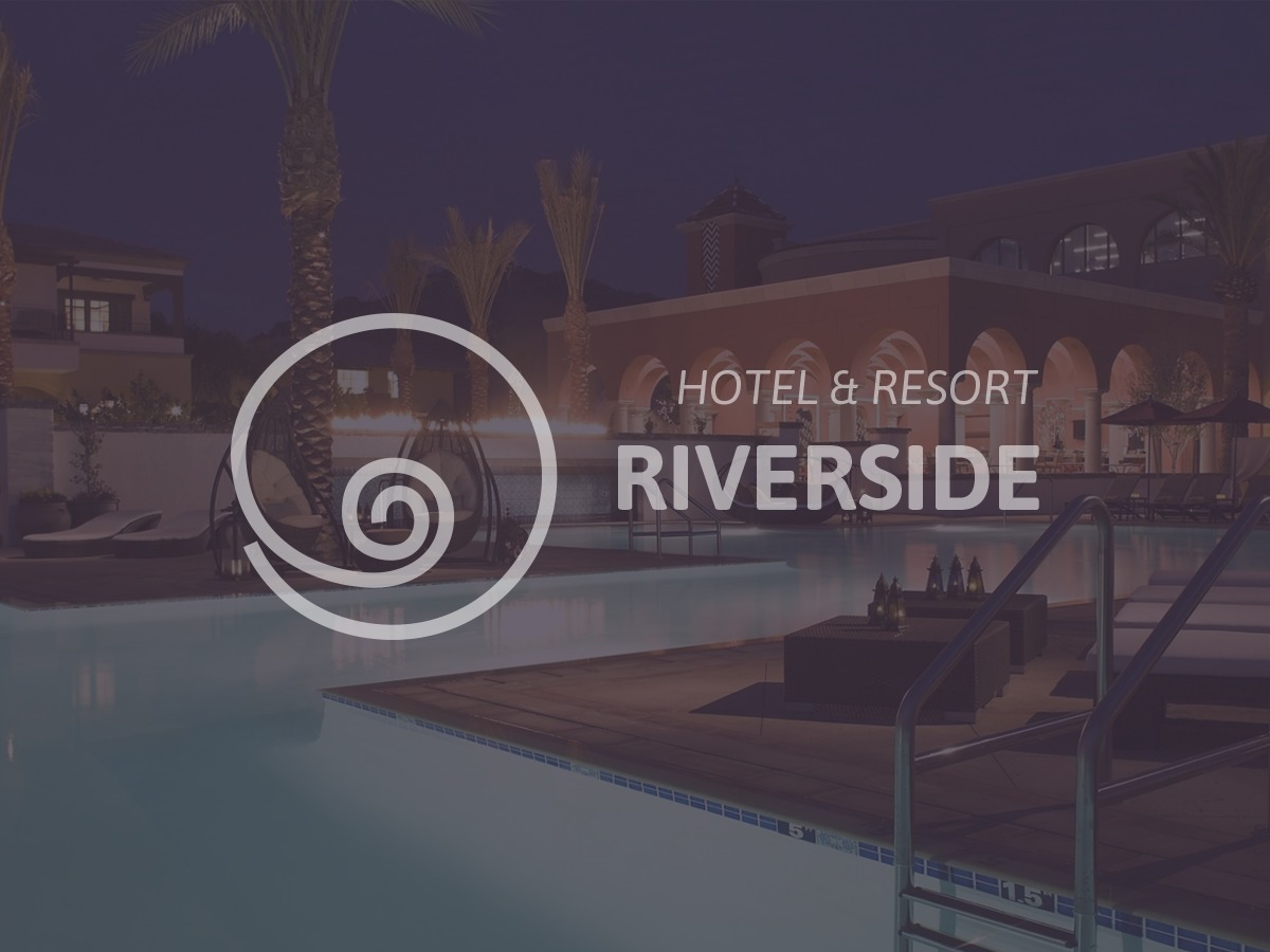 Riverside WordPress website template