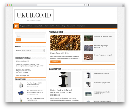 Sahifa (shared on wplocker.com) top WordPress theme - ukur.co.id
