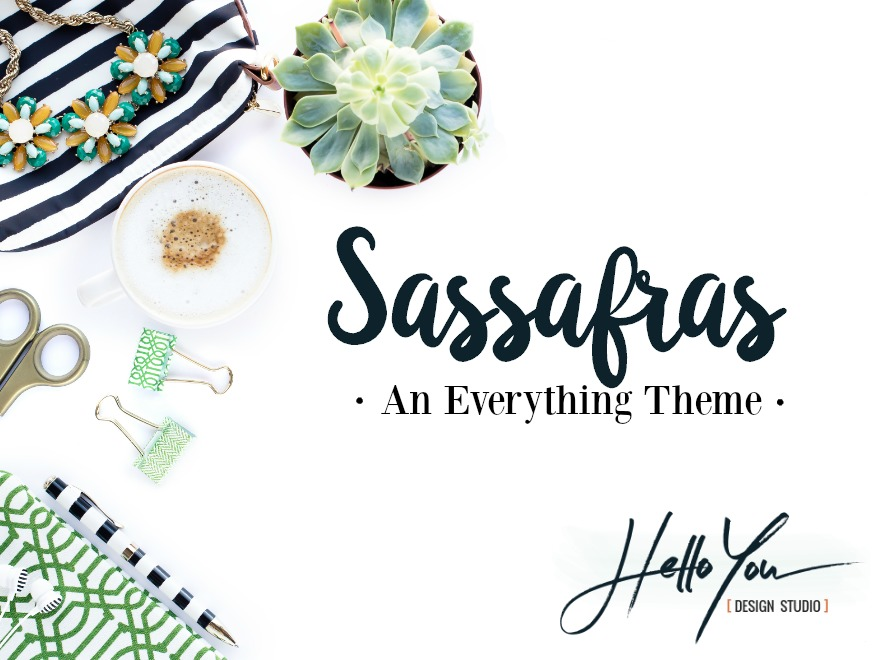 Sassafras Theme premium WordPress theme