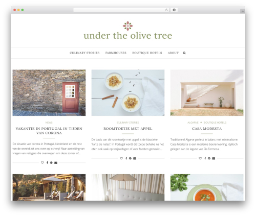 soledad WordPress theme - underthe-olivetree.com