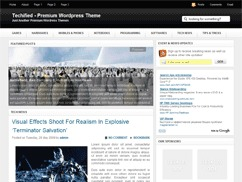 Techified WordPress blog template
