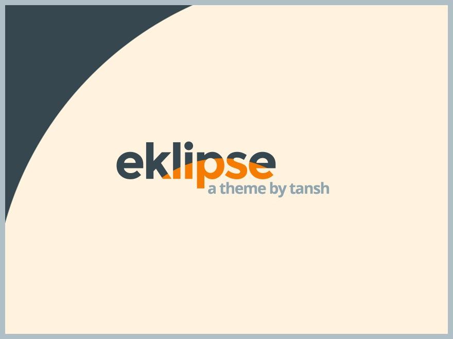 Template WordPress eklipse