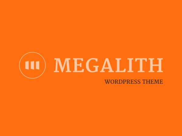 Template WordPress Megalith