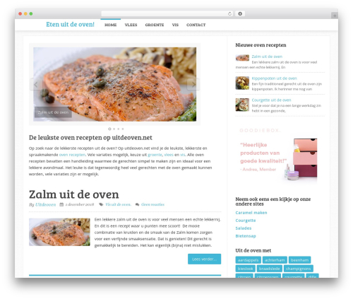 Template WordPress Sensational by MyThemeShop - uitdeoven.net