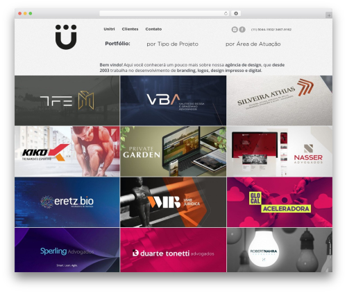 The7 theme WordPress - unitri.com.br