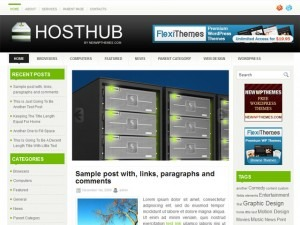 Theme WordPress HostHub