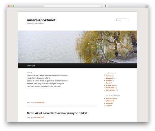 Twenty Eleven best free WordPress theme - umarsiz.net