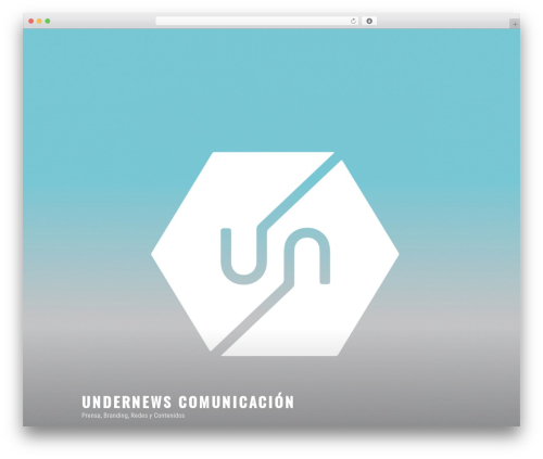 Twenty Seventeen free WP theme - undernewscomunicacion.com