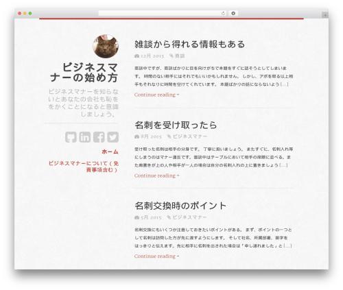 typefocus WordPress page template - ul-demko.com