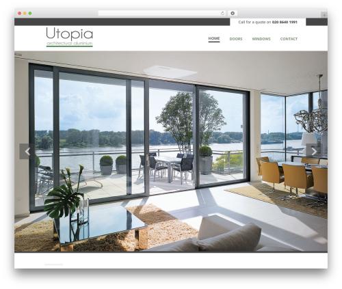 Vanguard WordPress theme - utopiawindows.co.uk