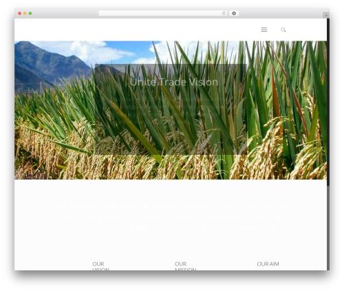 WordPress template Betheme - unitetradevision.com