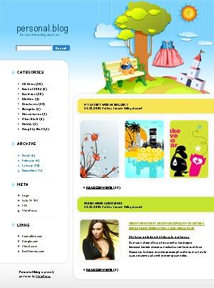 WordPress template WordPress theme 442