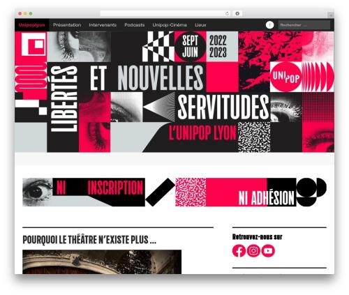Free WordPress Very Simple Contact Form plugin - unipoplyon.fr