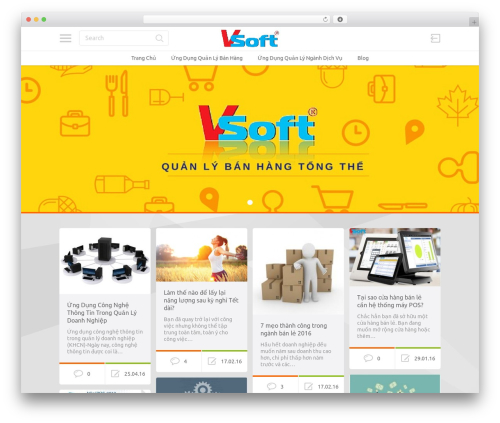 WordPress theme PinThis - ungdungquanly.com