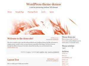 WordPress website template Alshei
