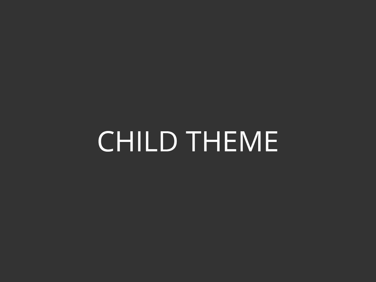 Best WordPress theme Imperion Child