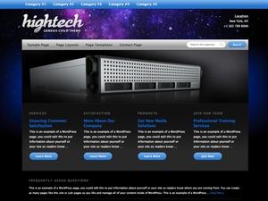 hightech child theme theme wordpress by studiopress