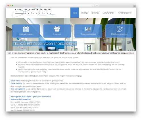 Jupiter best WordPress template - hc-zandvoort.nl