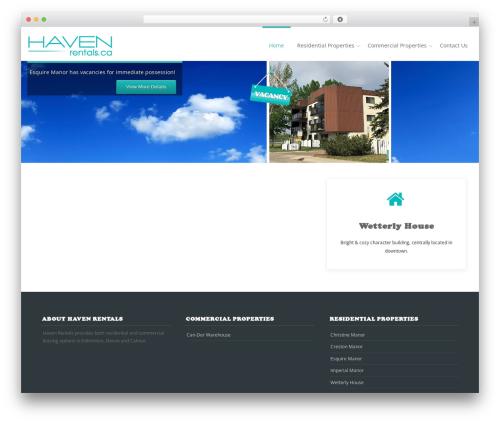 Reznor premium WordPress theme - havenrentals.ca