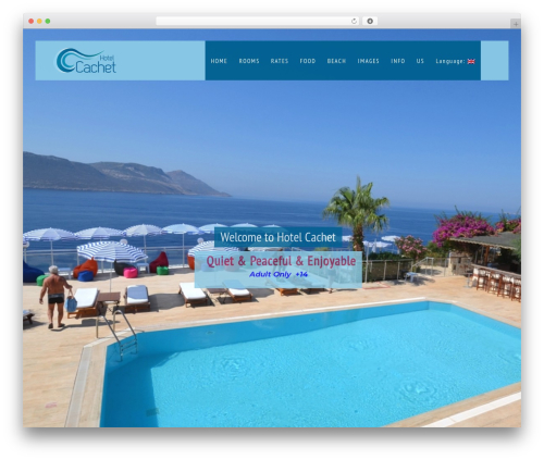 Theme WordPress Vierra - hotelcachet.com/v1