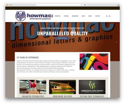 Vigor WordPress theme - howmac.com