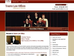 WP theme Youree Law Offices