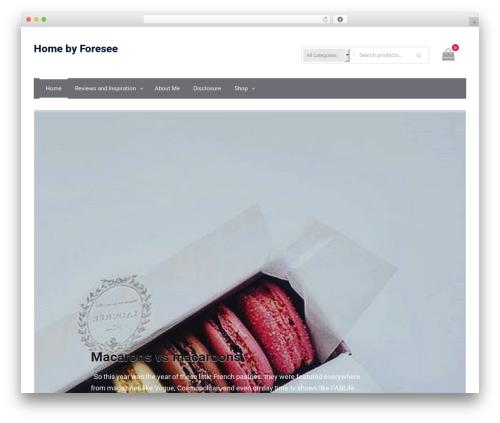 Easy Commerce theme WordPress free - homebyforesee.com