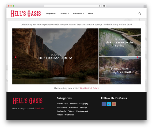 Particle by Bluthemes best WordPress theme - hellsoasis.com