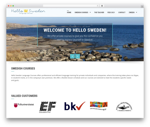 Free WordPress WP Mobile Menu plugin - hellosweden.education