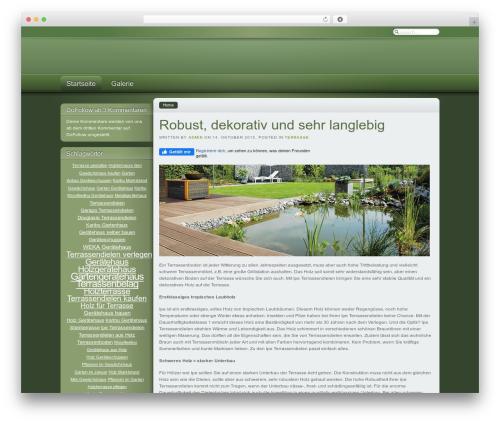 WordPress wp-spamfree plugin - holzterrasse-und-garten.de
