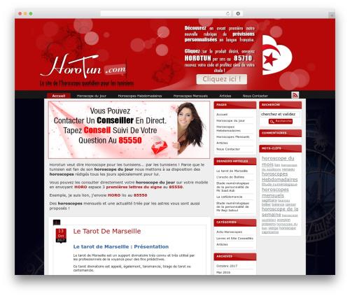 Techified WordPress theme - horotun.com