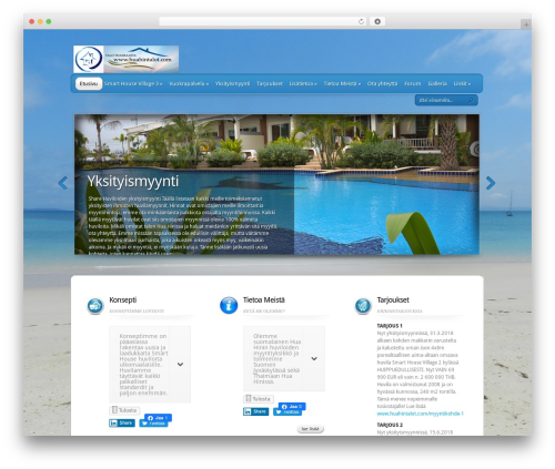 TheProfessional template WordPress - huahintalot.com