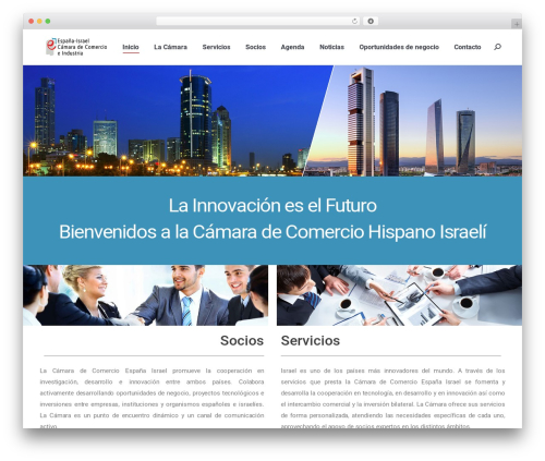 Best WordPress theme The7 - hispanoisraeli.com