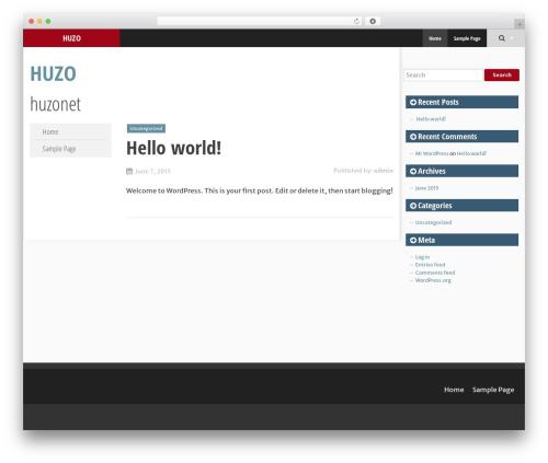 SmartAdapt WordPress theme free download - huzo.net