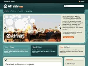 Best WordPress template Affinity Wordpress Theme