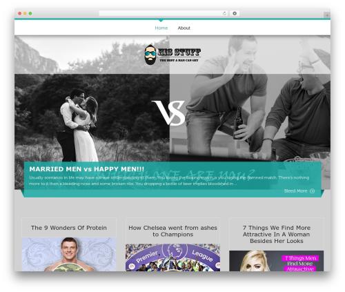 ButterBelly free WordPress theme - hisstuff.net