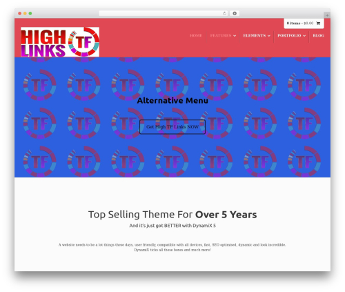 DynamiX | Shared by themes24x7.com WordPress theme - hightflinks.com