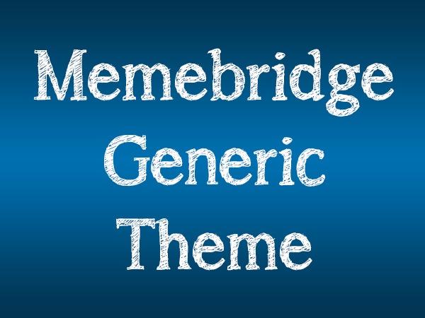 Memebridge WordPress blog theme