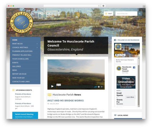 TownPress best WordPress theme - hucclecotepc.gov.uk
