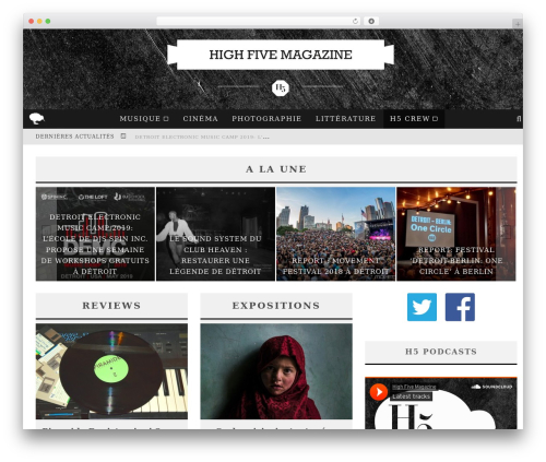 WordPress theme Valenti | Shared By Themes24x7.com - high-five-mag.com