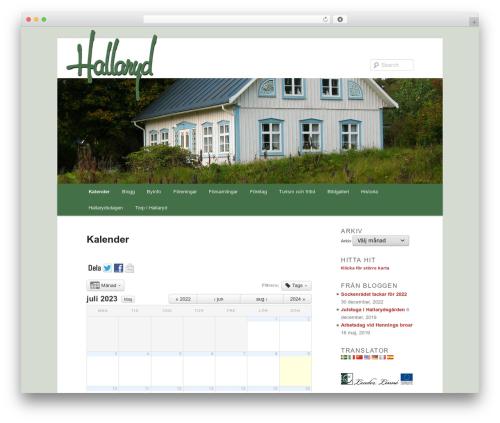 Free WordPress WP Header image slider and carousel plugin - hallaryd.se