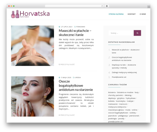 Cell template WordPress free - horvatska.com