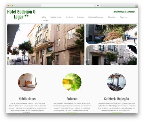 Customizr free WordPress theme - hotelolagar.com